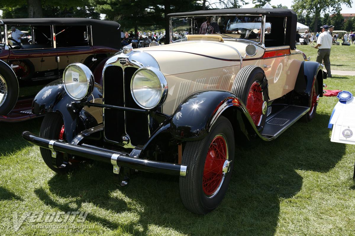 1930 Auburn Series 125 cabriolet