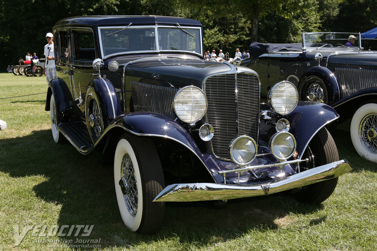 1934 Auburn 1250 Salon Sedan Information