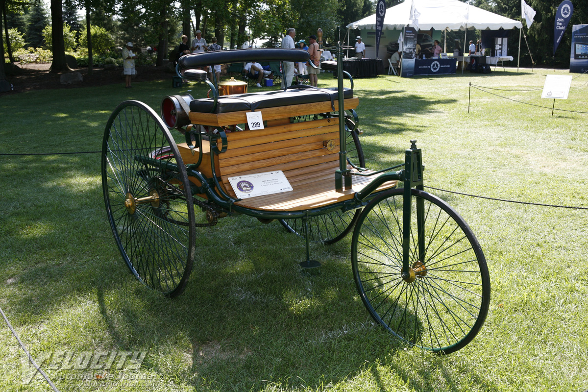 1886 Benz Patent-Motorwagen. 2011 Concours d'Elegance of America