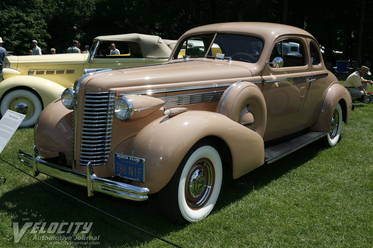 1938 Buick Series 60 Century Coupe