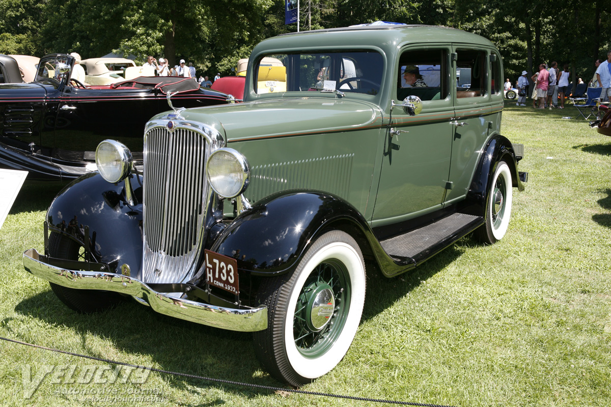 1933 Continental (Continental Motors Corporation) Flyer sedan