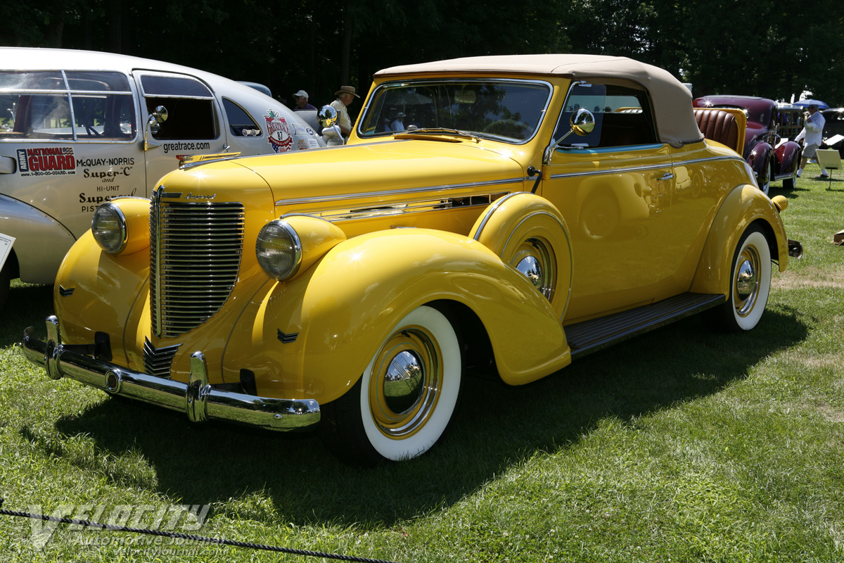 1939 Chrysler Imperial C19 Convertible Coupe