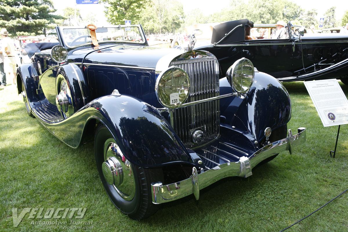 1935 Hispano-Suiza J12 Drophead Coupe by VanVooren