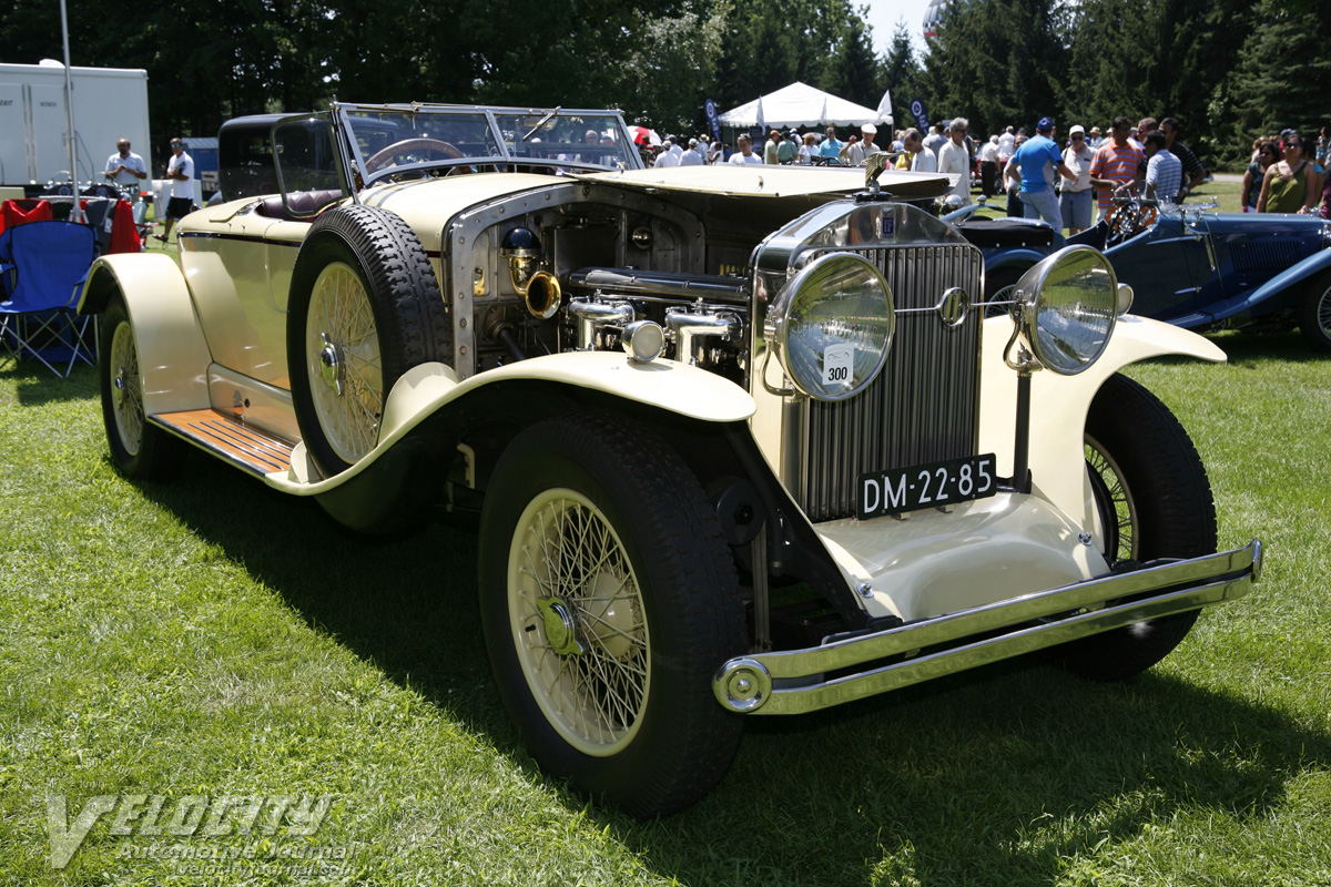 1925 Isotta Fraschini Tipo 8A Boattail by Corsica