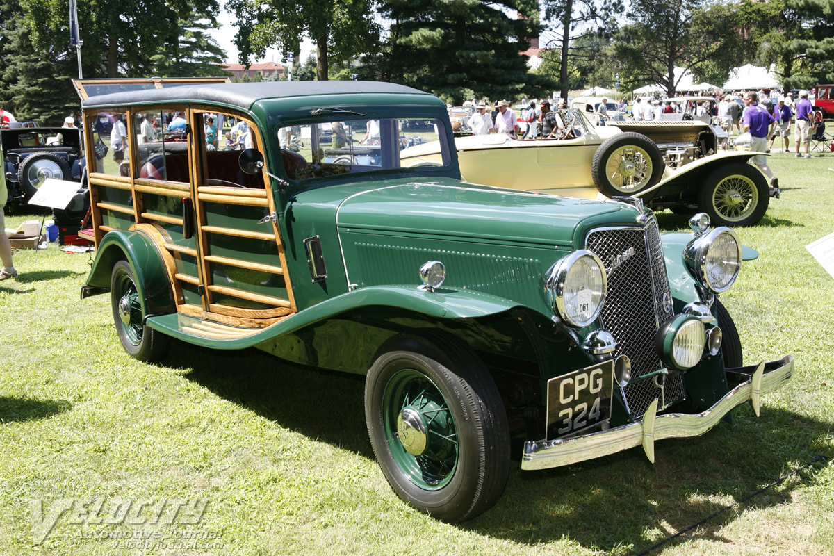 1935 Jensen Shooting Brake