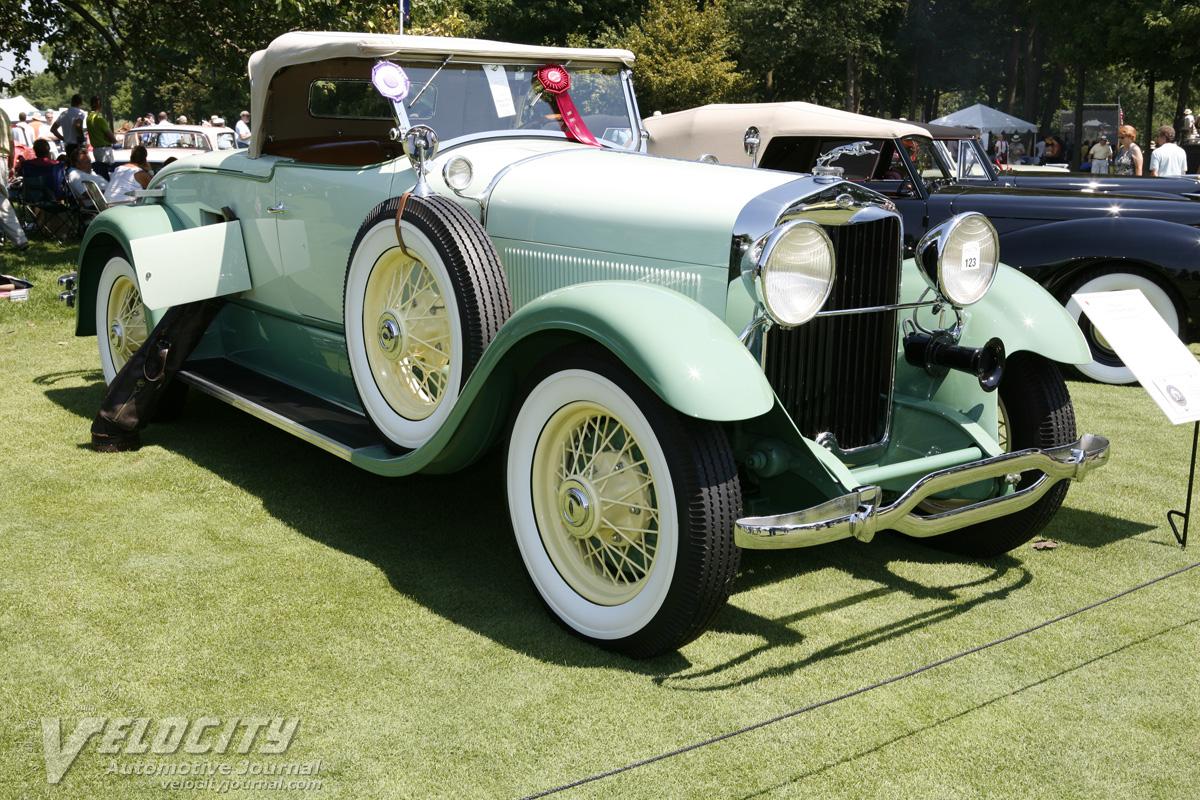1930 Lincoln Model L Sport Roadster Information
