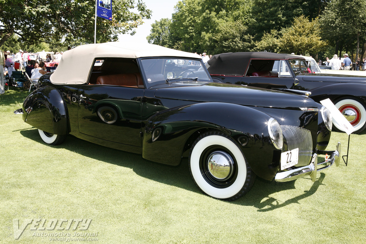 1939 Lincoln Continental Cabriolet prototype