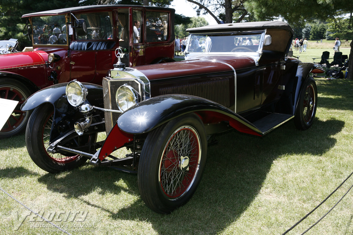 1927 Mercedes-Benz S Roadster by unknown coachbuilder