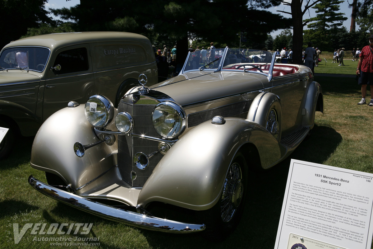 1938 Mercedes-Benz 540K Special Tourer