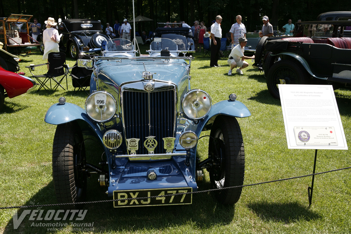 1935 MG NB Roadster