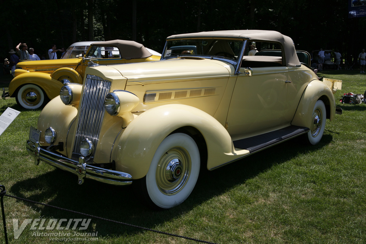 1936 Packard 120 Cabriolet
