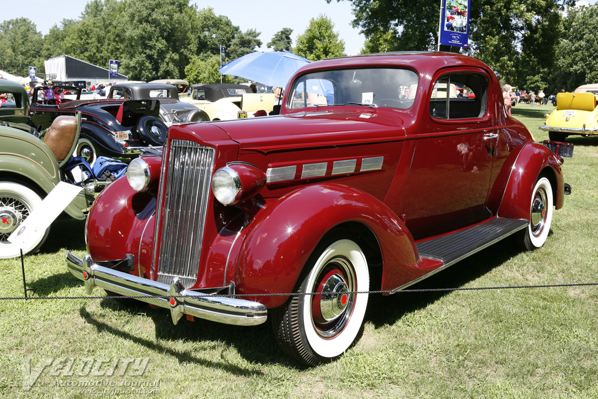 1937 Packard 120 Business Coupe