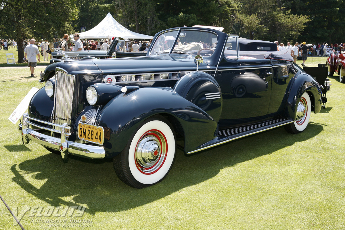1940 Packard 160 Convertible Coupe