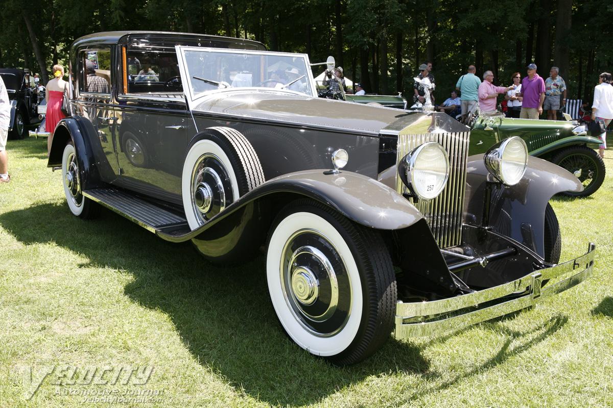 1933 rolls-royce phantom ii towncarbrewster information
