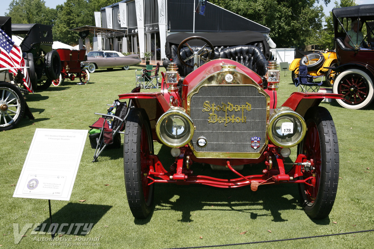1912 Stoddard-Dayton Model 48 5p roadster