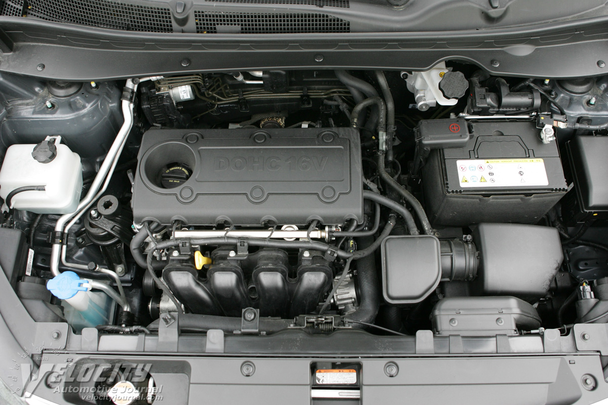 2011 Kia Sportage Engine