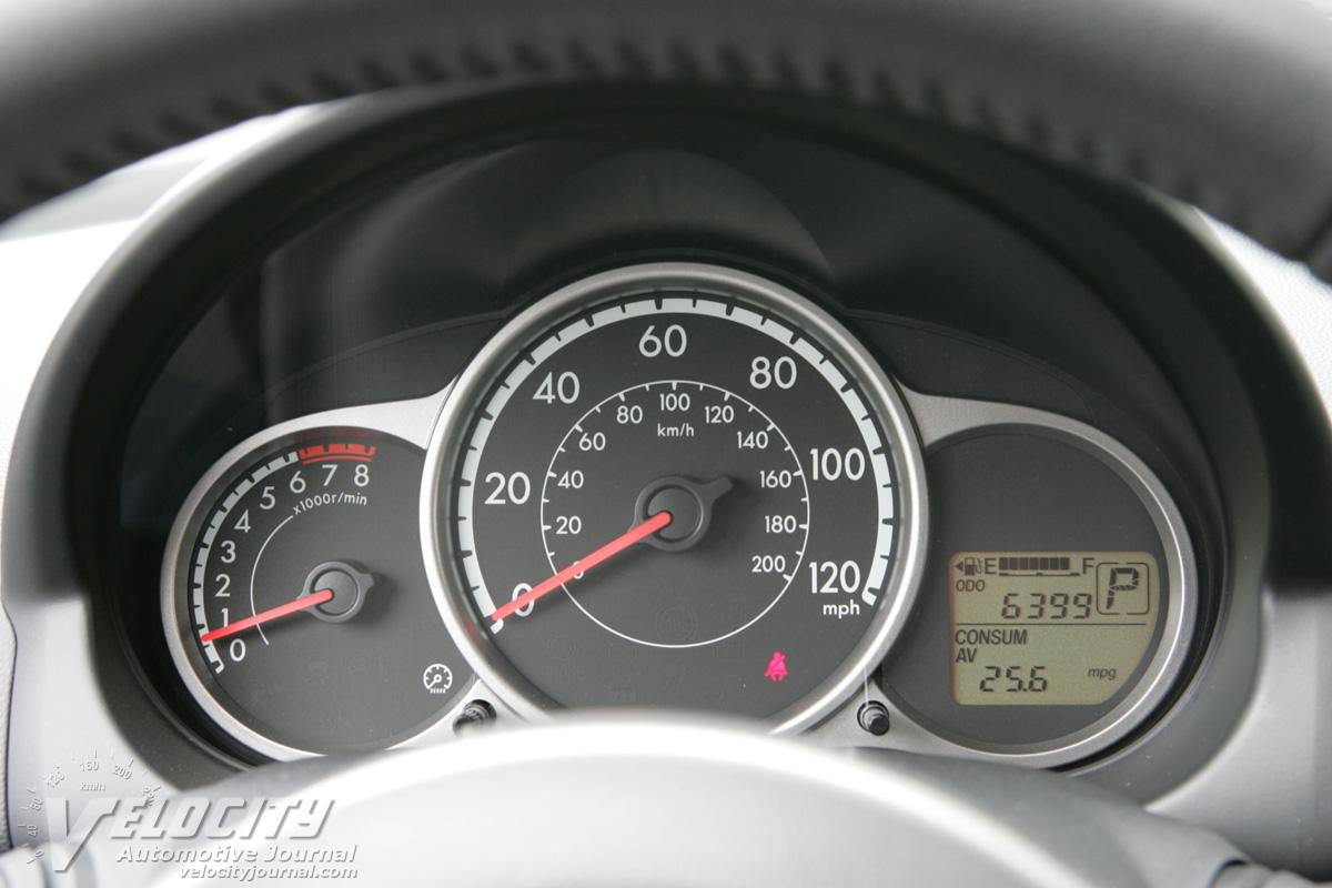 2011 Mazda MAZDA2 Instrumentation