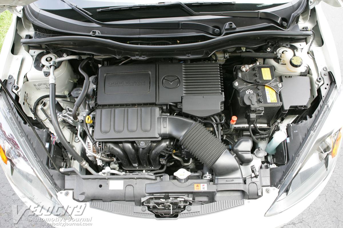 2011 Mazda MAZDA2 Engine