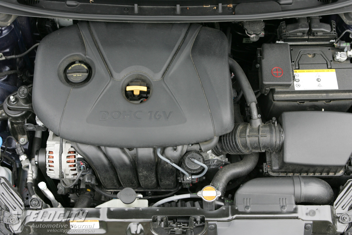 2011 Hyundai Elantra Engine