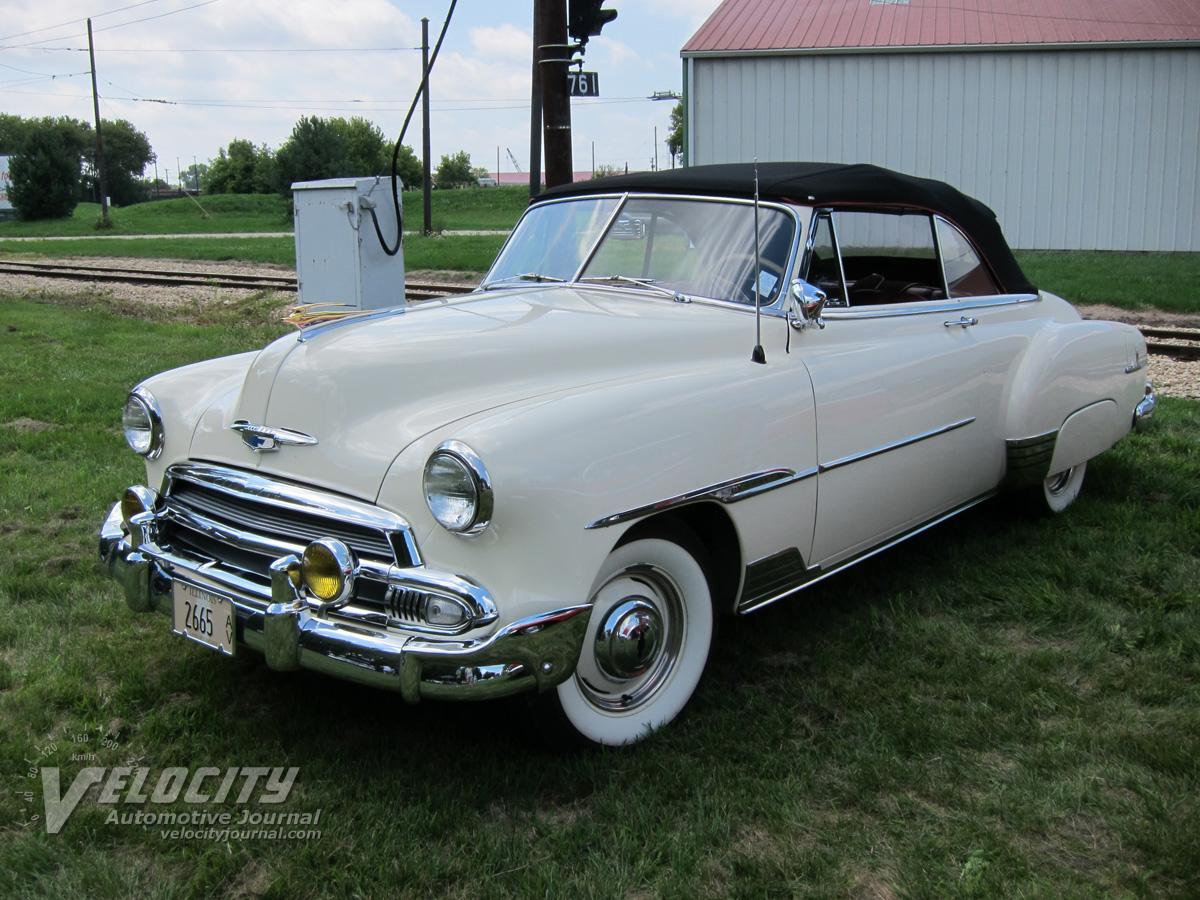 1951 Chevrolet convertible