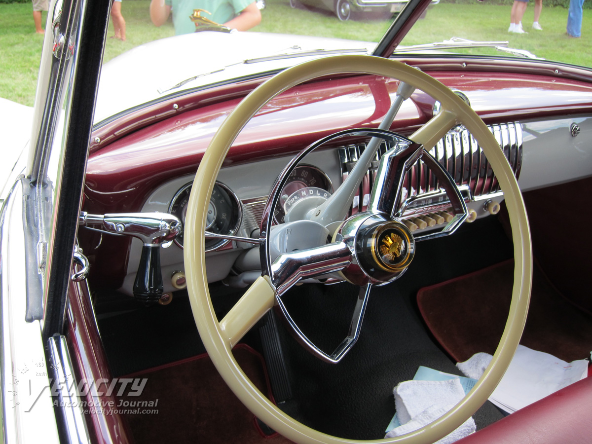1951 Chevrolet convertible Interior