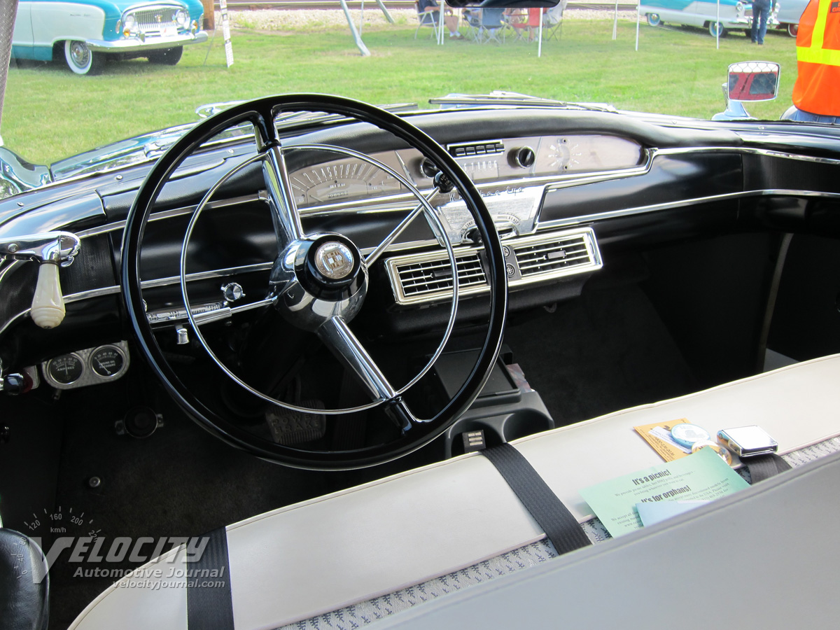 1957 Nash Ambassador Country Club 2d hardtop Interior