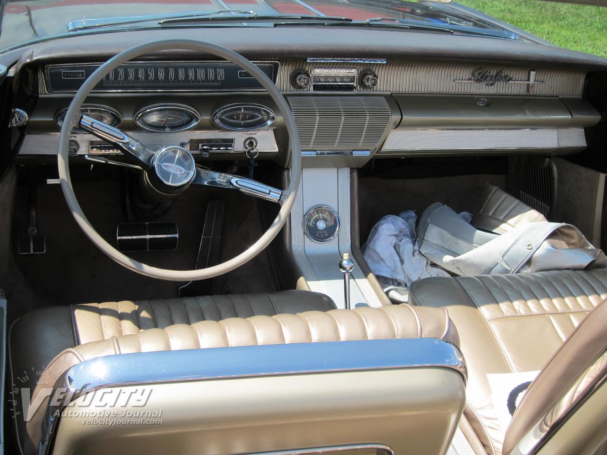 1961 Oldsmobile Super 88 Starfire Convertible Interior