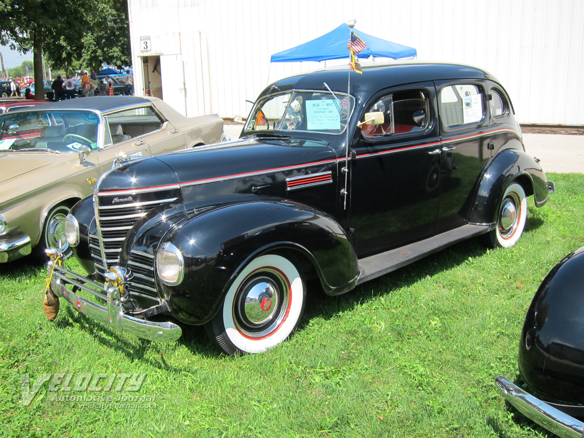 1939 Plymouth P8 DeLuxe sedan