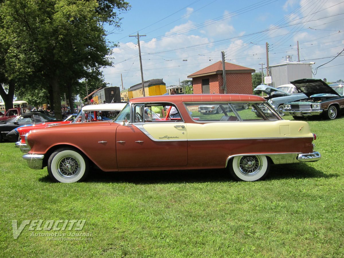 1955 Pontiac Star Chief Custom Safari 2d wagon