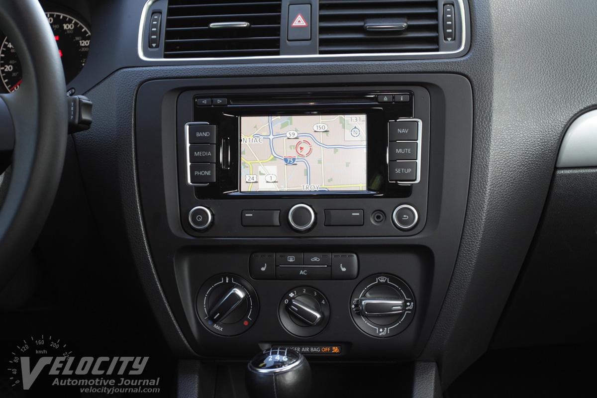 2011 Volkswagen Jetta TDI Instrumentation