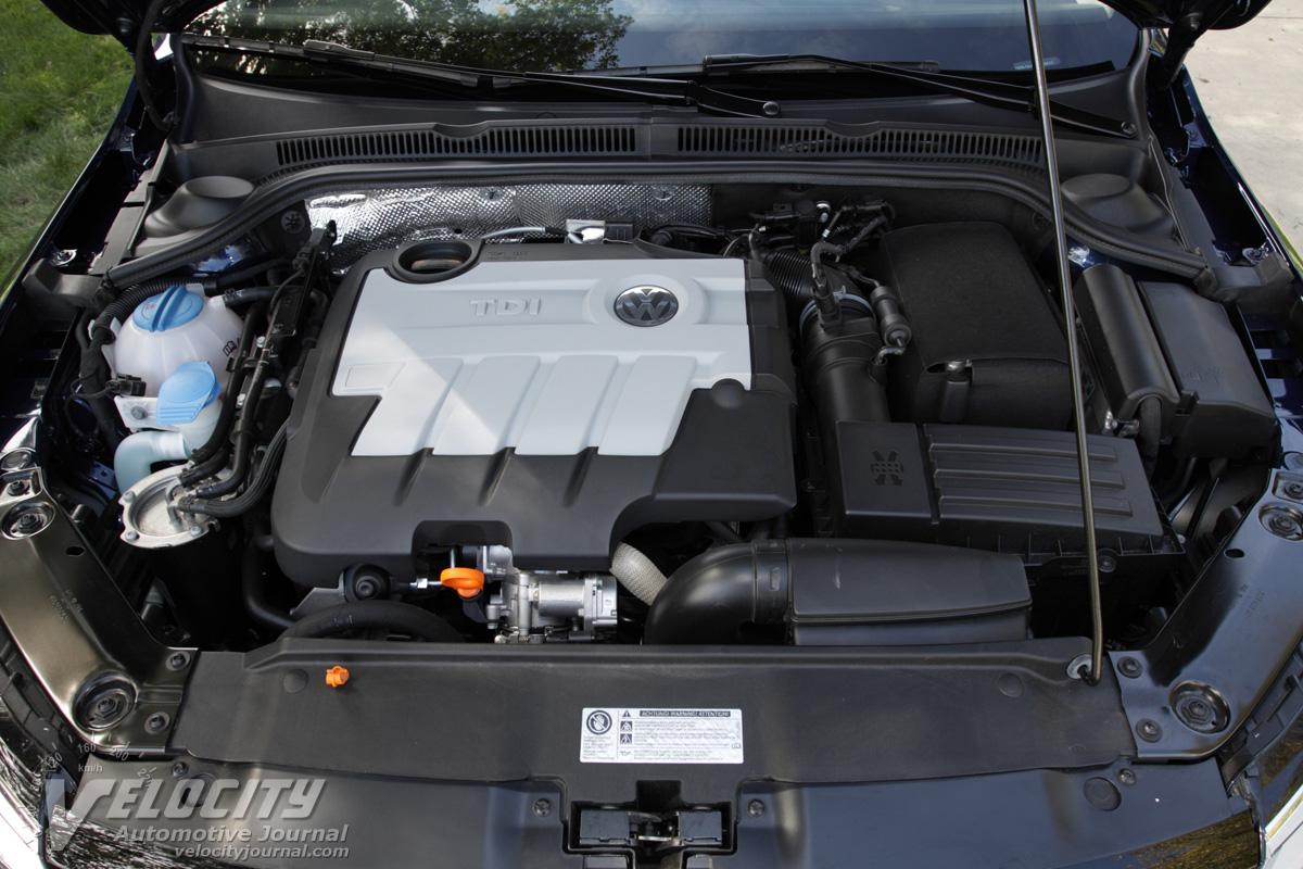 2011 Volkswagen Jetta TDI Engine
