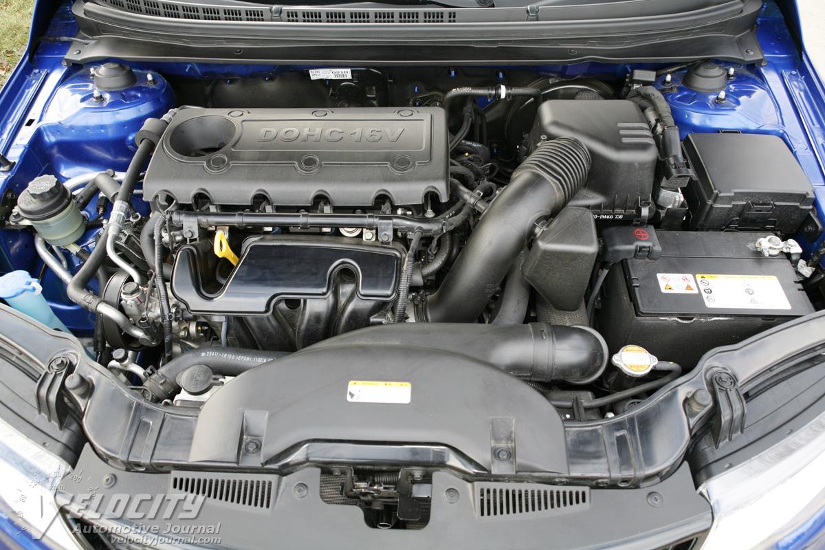 2011 Kia Forte Koup SX Engine