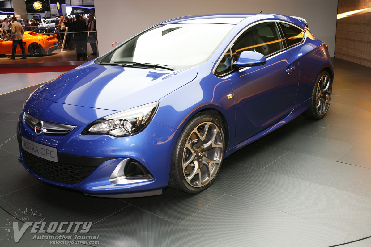 2012 Opel Astra OPC