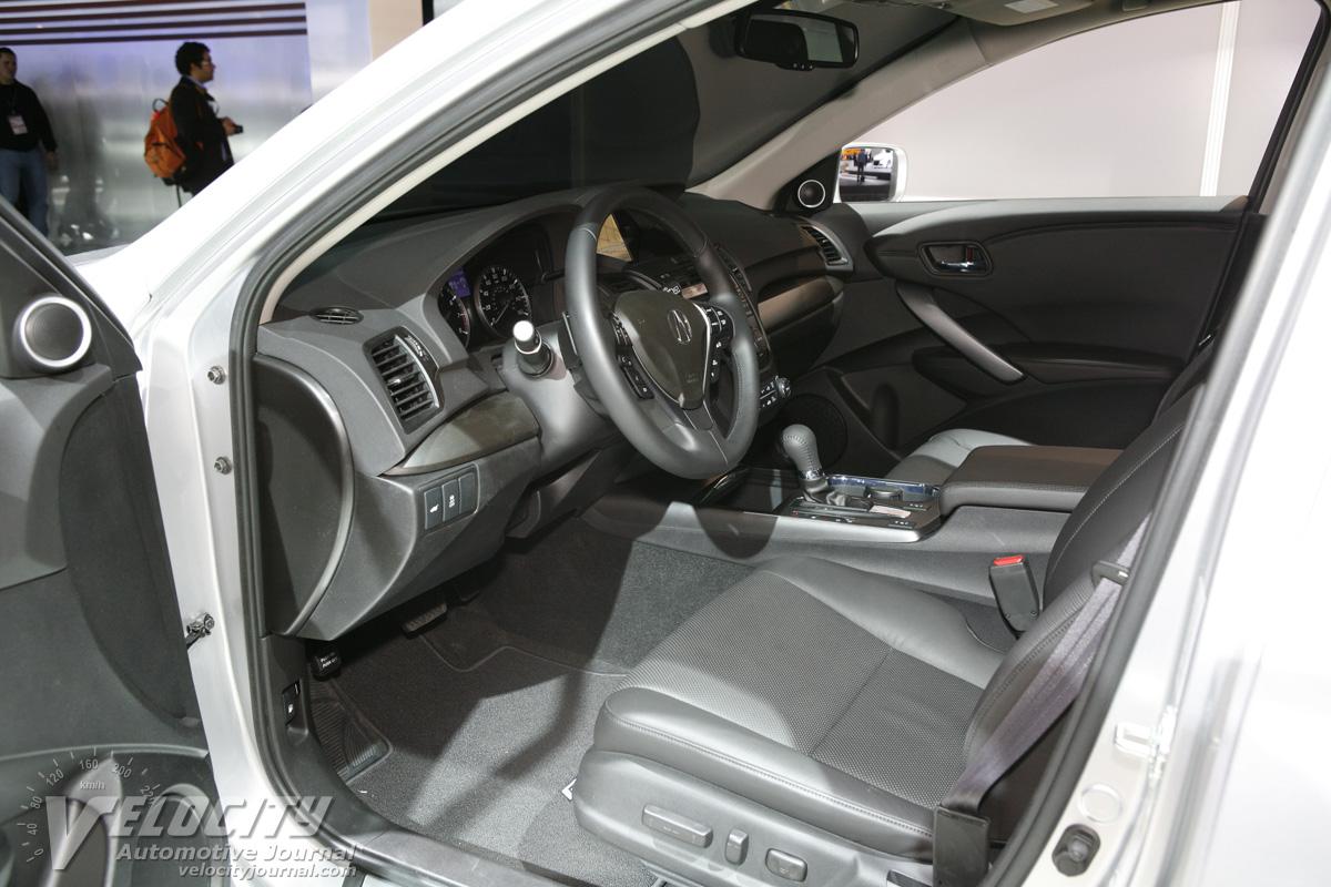 2012 Acura RDX prototype Interior