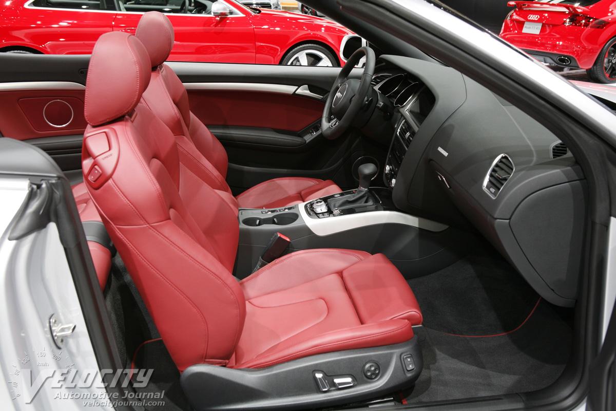 2013 Audi A5 Cabriolet Interior