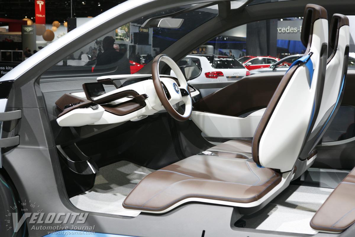 2011 BMW i3 Concept Interior