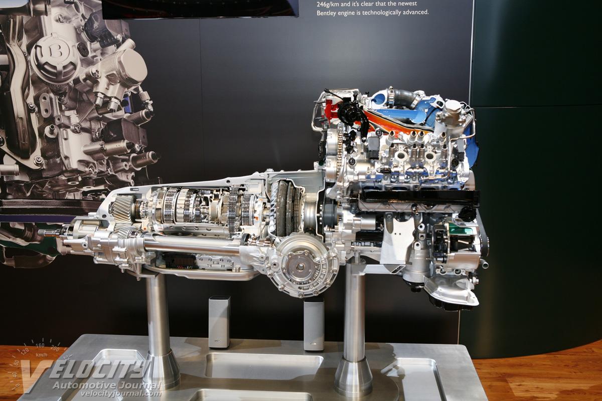 2012 Bentley Continental GT V8 Engine