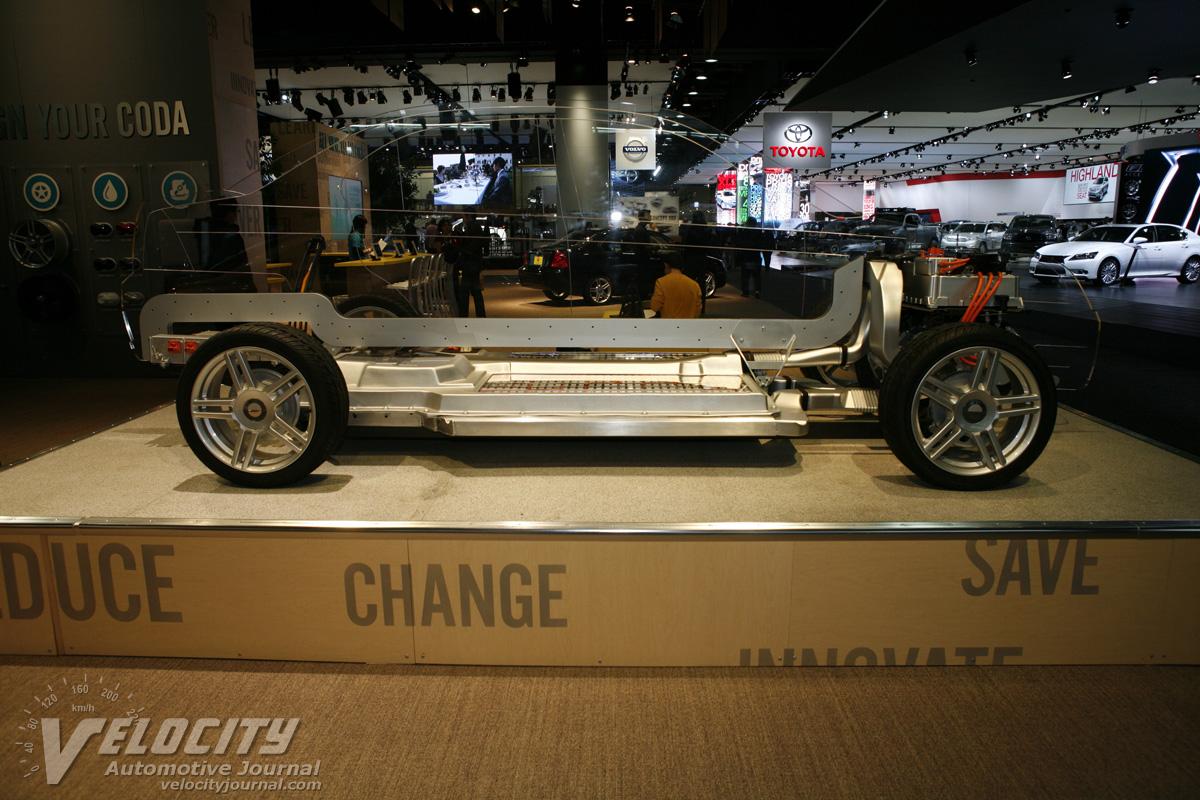 2012 Coda Automotive Coda chassis
