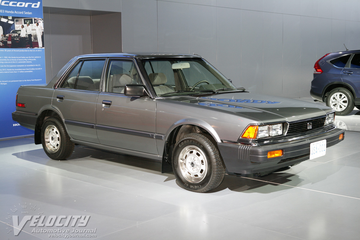 First Honda Accord 1983 Honda Accord Sedan First