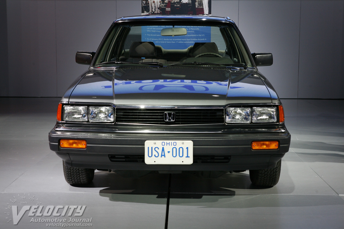 1983 Honda Accord sedan (First Accord produced in US)