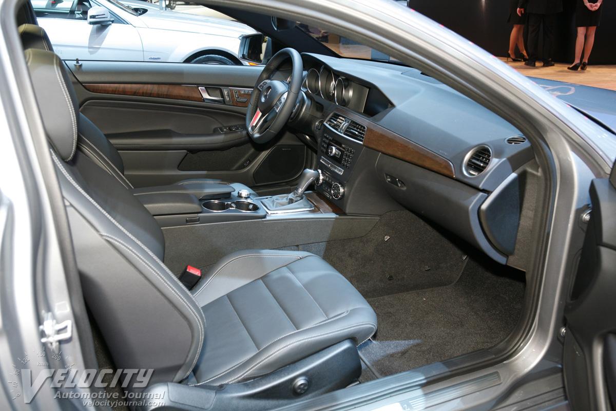 2012 Mercedes-Benz C-Class coupe Interior
