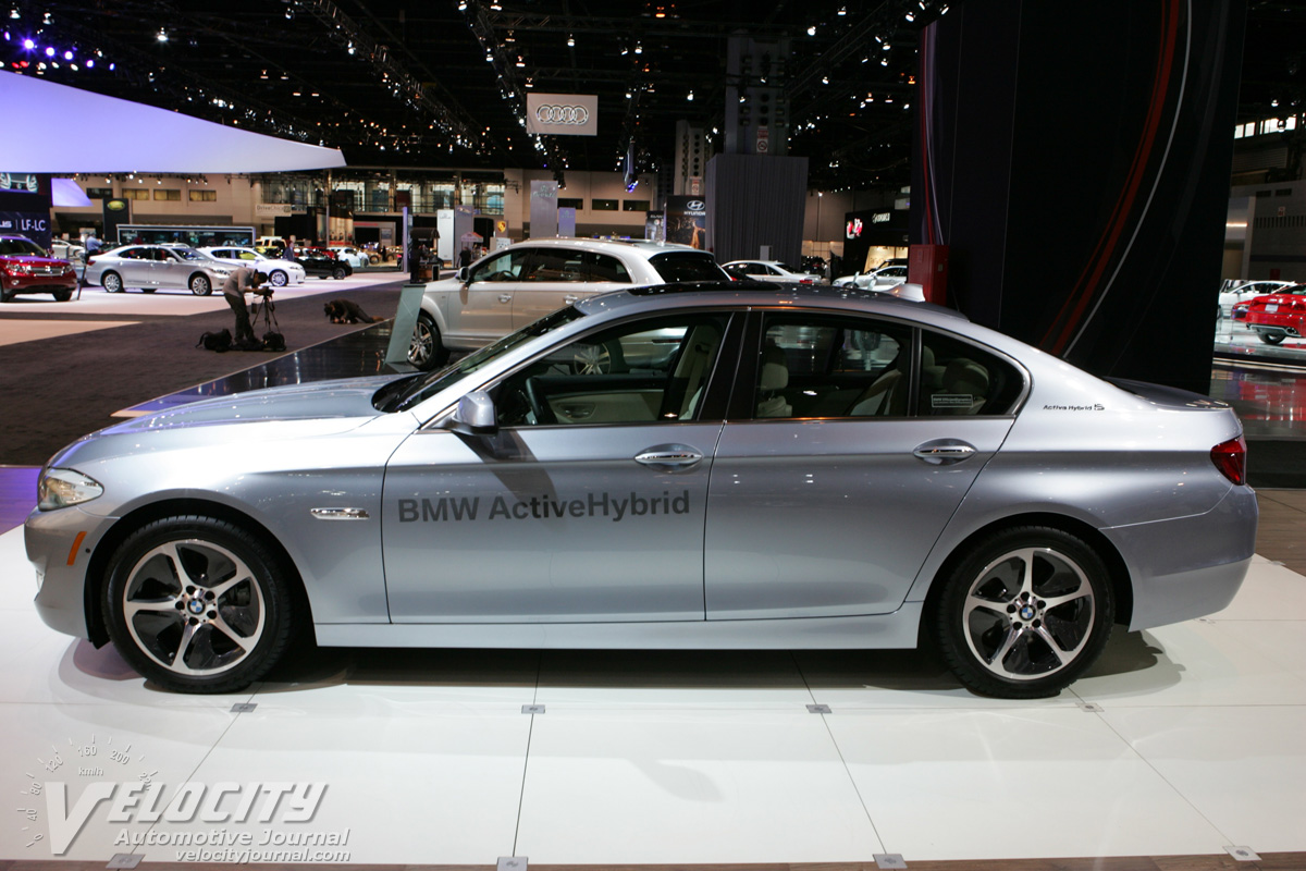 2012 BMW 5-Series ActiveHybrid 5