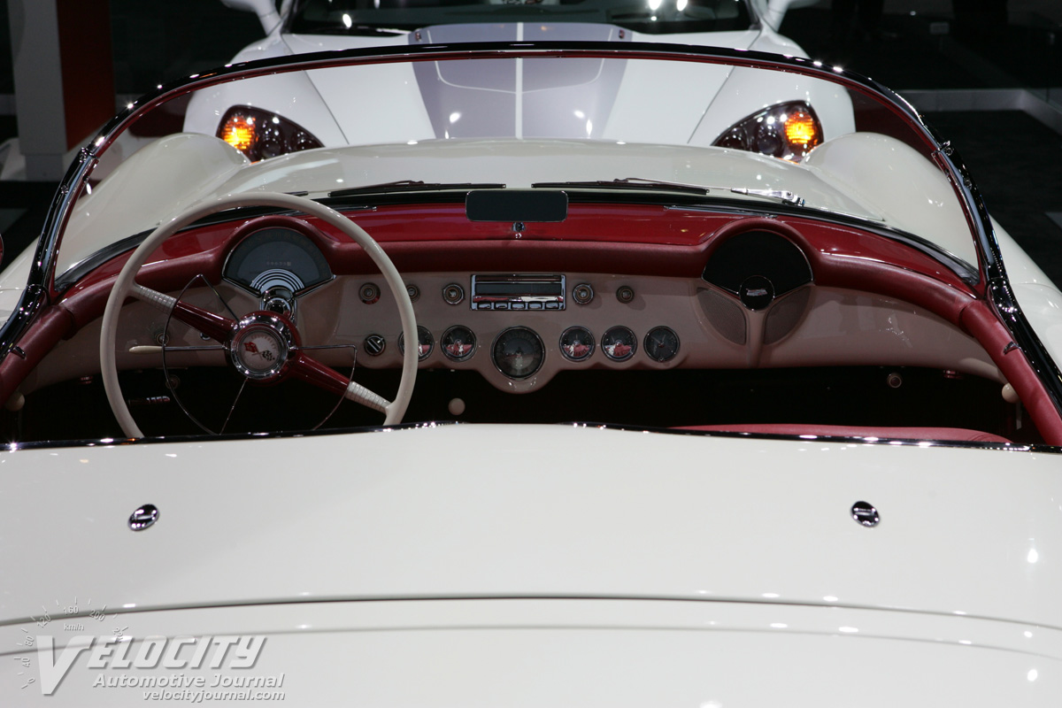 1953 Chevrolet Corvette Instrumentation