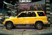 1996 Honda CRV concept at 1996 CAS