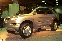 1996 Isuzu Deseo concept at 1996 CAS