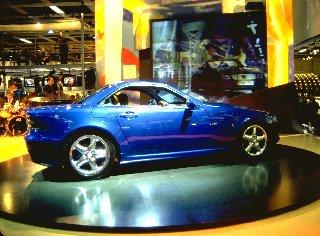1995 Mercedes-Benz SLK concept from 1995 NAIAS