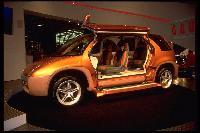 1996 Mitsubishi GAUS concept at 1996 NAIAS