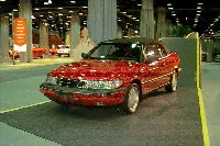 1996 Saab 900 convertible at 1996 CAS
