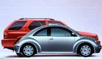 1998 Volkswagen Beetle & 1998 Isuzu Rodeo