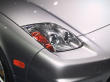 2002 Acura NSX headlight detail